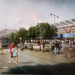 Nové nádraží U Řeky 2014